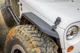 jeep fender flares jk mce u0027s narrow jk fender review drivingline