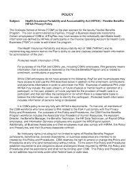 hipaa policy template template idea