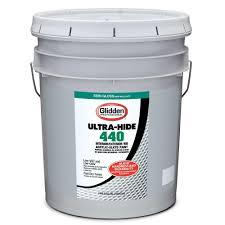 glidden professional 5 gal ultra hide 440 semi gloss oil alkyd