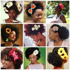 flower hair hair pins hergivenhair