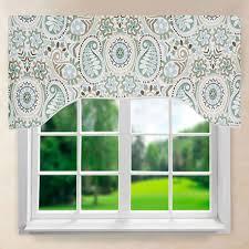 paisley prism arch valance ellis curtain curtainshop com