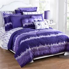 Tie Dye Bed Set Purple Tie Dye Comforter Sham Set Kimlor Mills Inc