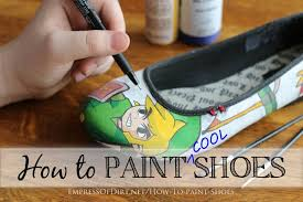 Spray Paint Your Shoes - how to paint your shoes u2013 craftbnb