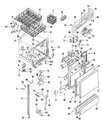 kitchen ge dishwasher parts list kenmore dishwasher drawer will be