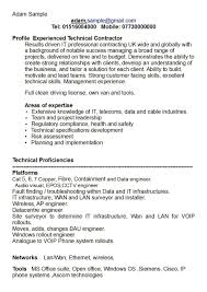 Skill Resume Example Sample Of Key Skills In Resume Resume For Your Job Application