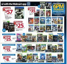 best black friday deals in stores walmart black friday 2016 deals nearly 90 games will be on sale