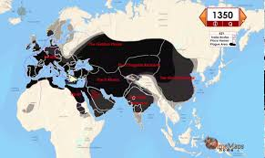 Interactive Map Of Europe The Black Death Interactive History Map Youtube