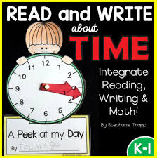time activities for first grade primary theme park