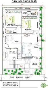 West Facing House Vastu Floor Plans West Facing Independent Floor Plan 200 Sq Yards Land U2013 1500 Sq