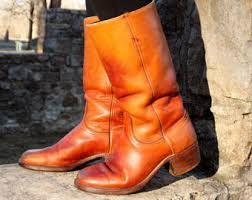 womens vintage cowboy boots size 9 vintage frye boots womens size 5 frye boots mahogany
