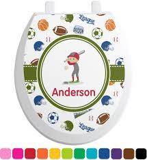Sports Bathroom Accessories by Sports Bathroom Accessories Set Ceramic Personalized Potty