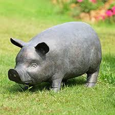 garden pig statue fasci garden
