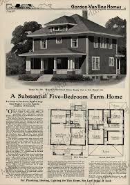 gordon van tine 518 a substantial five bedroom farm home in