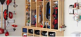 basement storage and organization