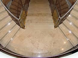 honed jura beige limestone treads stone stair treads