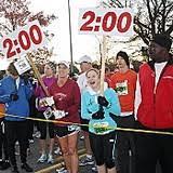 2012 atlanta half marathon thanksgiving day 5k atlanta track club