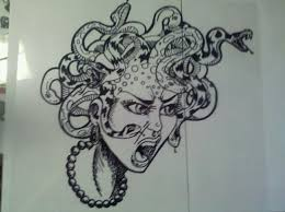 medusa head tattoo sketch in 2017 real photo pictures images