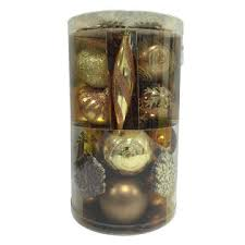 trim a home 90 ct assorted shapes shatterproof ornament