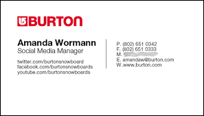 Facebook Logo For Business Card 12 Clever Social Media Friendly Business Cards