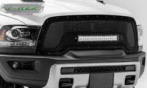 blacked out dodge truck t rex truck products introduces tough grille designs for 2015
