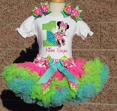 minnie s bowtique fancy minnie bowtique birthday ship pettiskirt set