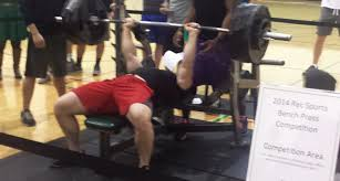 Training For Bench Press Competition Pohl Recreation Center Holds Bench Press Competition U2013 North Texas