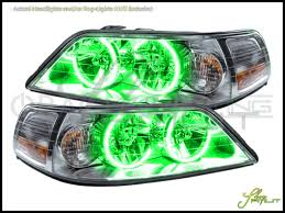car rings images Oracle 05 11 lincoln town car plasma halo rings headlights bulbs