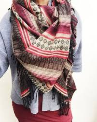 cozy bundle up our gorgeous wool blanket scarf in oatmeal the ultimate cozy