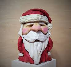 327 best carved santa images on carved wood wood