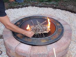 diy firepit for neat freaks outdoor project 2 live for the season