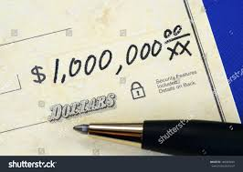 writing concept papers write check one million dollars concept stock photo 146883650 write a check of one million dollars concept of wealth