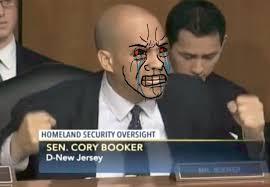Cory Booker Meme - cory booker tears of rage blank template imgflip