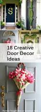 Creative Home Decor Ideas by 18 Creative Door Decor Ideas How To Build It