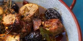 porc cuisine tajine de porc aux pruneaux facile et pas cher recette sur