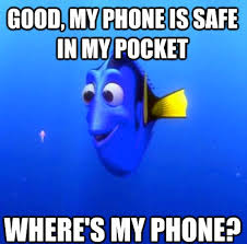 Lost Phone Meme - the forgetful dory meme reminds us how stupid we are sometimes