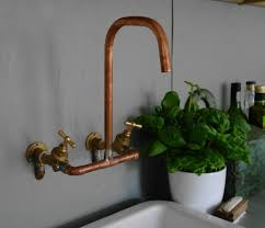 antique copper faucet for kitchen u2014 the homy design