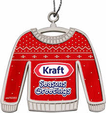 custom printed ugly sweater christmas ornaments