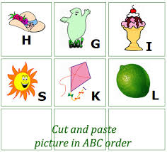 preschool english worksheets and activities