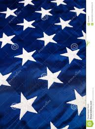 Blue Flag With Stars White Stars On American Flag Stock Photo Image Of White Concept