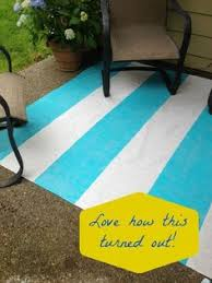 Painting An Outdoor Rug How To Turn A Canvas Drop Cloth Into An Outdoor Rug Outdoor Rugs