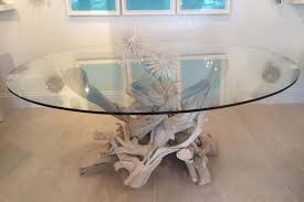 driftwood dining table base for 48