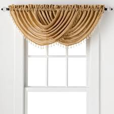 Grommet Top Valances Amazon Com 2 Pack Beaded Emerald Crepe Waterfall Valances