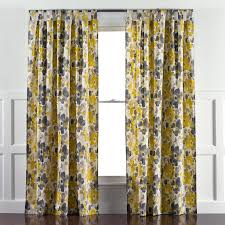 Yellow And Gray Window Curtains Dwellstudio Landsmeer Yellow And Gray Curtain Panel Dwellstudio