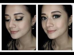 tutorial make up wardah untuk pesta glamour makeup tutorial bahasa erselita youtube