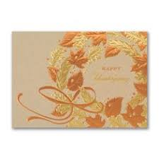 rustic thanks business thanksgiving cards custom printed