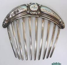 sterling silver hair comb ebay