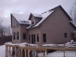 faux log siding ideas home improvement pictures to inspire