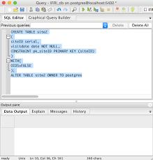 Postgresql Alter Table Add Column Pgadmin And Postgresql Exercise Community Service With Web Based