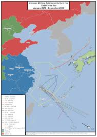 China Sea Map by Chinese Military Aviation In The East China Sea Jamestown