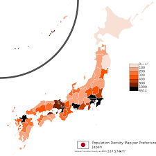 Population Map Japan Population 2016 Facts Charts And Explanations